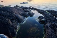 Kvamsøya-  Riste - Solnedgang