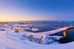 Ormen Lange Nyhamna - vinter