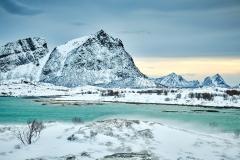 Vinterfjell i brunes