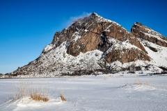 Vinter på Bøsanden