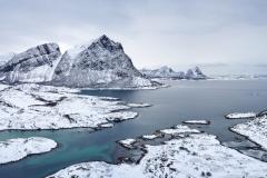 Vinterlandskap - Engeløya