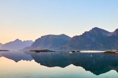 Lundøya -Sett fra Brunes