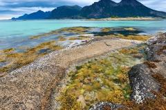 utsikt mot Lundøya fra Brunes