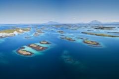 Vegaøyene - Dronefoto